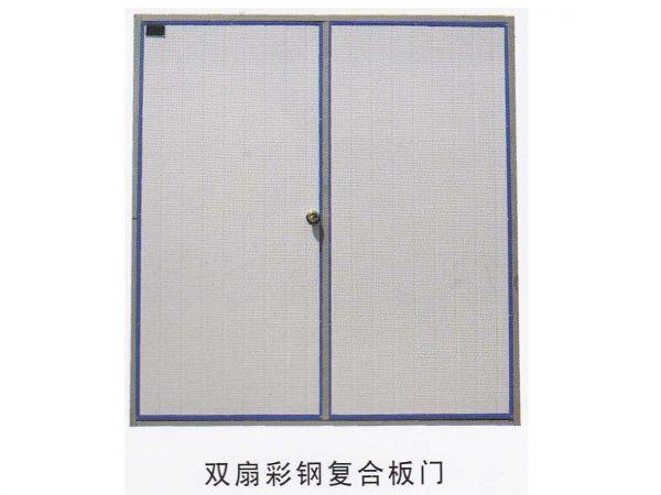 彩钢板复合板门